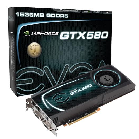 EVGA lance sa GeForce GTX 580 avec 3DMark 2011