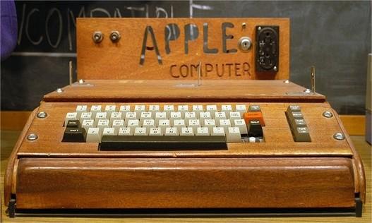 Un Apple 1 va être vendu aux enchères
