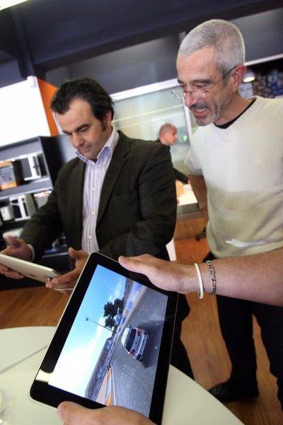 L'iPad dans les grandes surfaces