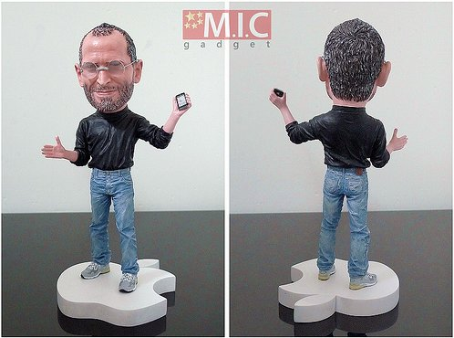 La figurine Steve Jobs - Indispensable pour les Apple Addict :)