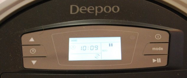 Test du robot aspirateur Deepoo D73