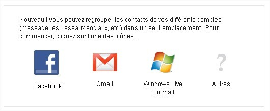 Exporter ses contacts Facebook sur Gmail ( ou Yahoo! )