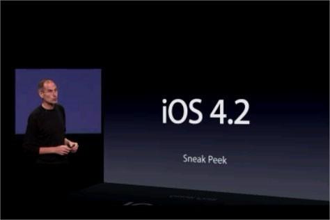 Télécharger iOS 4.2 pour iPhone, iPad et iPod Touch aujourd'hui