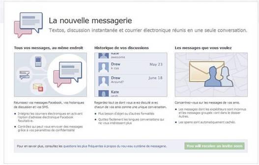 Facebook Messages - La méthode pour avoir une invitation !