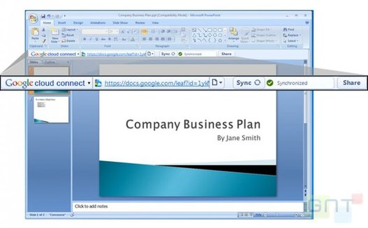 Google Cloud Connect - Travaillez sur Microsoft Office avec vos Google Docs