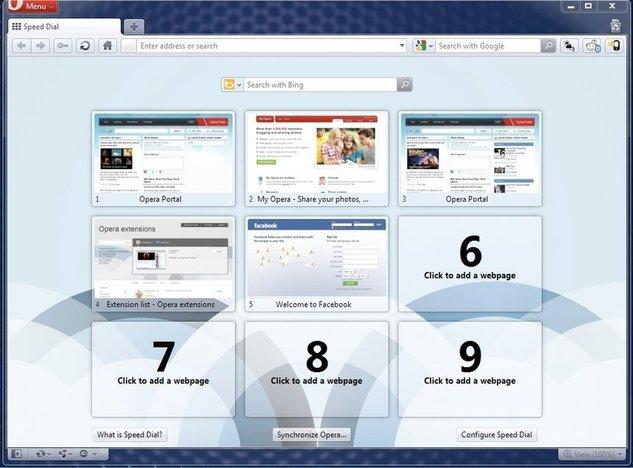 Téléchargez Opera 11 beta 1