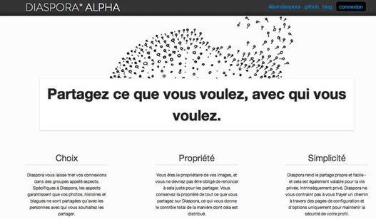 Diaspora, le concurrent de Facebook, vous ouvre ses portes