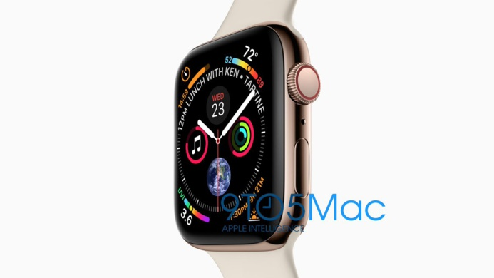Le nouvel iPhone XS et l'Apple Watch Series 4 se montrent avant l'heure
