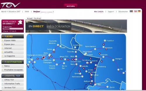 Box TGV - Internet dans votre TGV