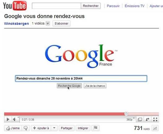 Que va annoncer Google France le 28 novembre ?