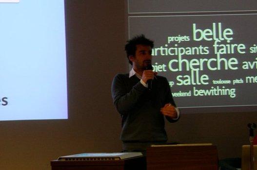 StartUp Weekend Toulouse - Conf de Cédric Giorgi