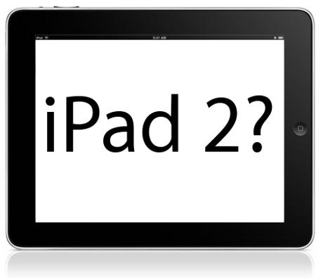 L'iPad 2 pour janvier prochain ?