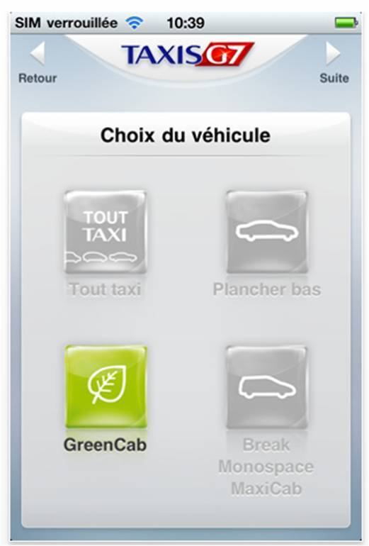 Taxis G7 - Réservez votre taxi en priorité