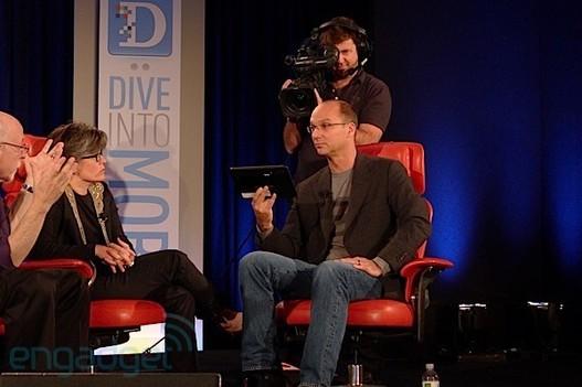 Android 3.0 - Google nous en dit plus et montre une tablette Motorola