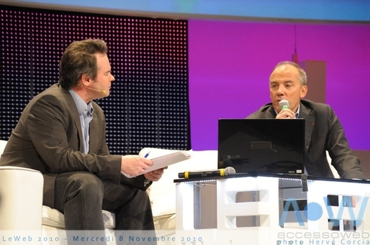 LeWeb'10 - Stéphane Richard CEO Orange