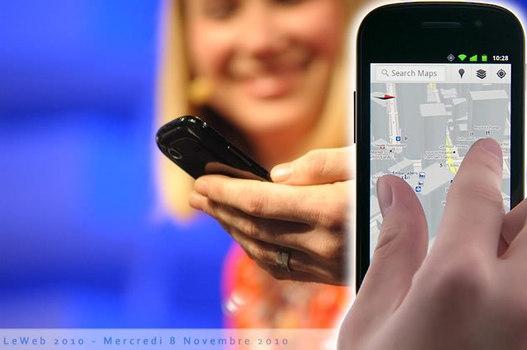 Google Maps Mobile 5 : démonstration vidéo