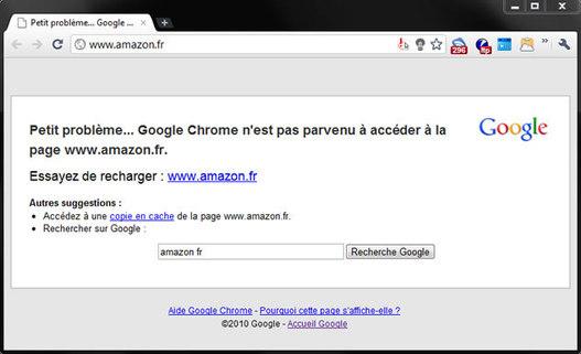 Amazon hors-service suite à une attaque DDoS ?