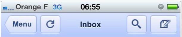Le nouveau Gmail Mobile aujourd'hui en 44 langues
