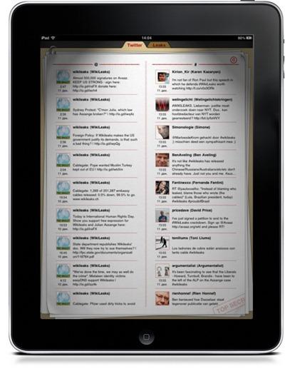 Une application sur Wikileaks supprimée de l'App Store