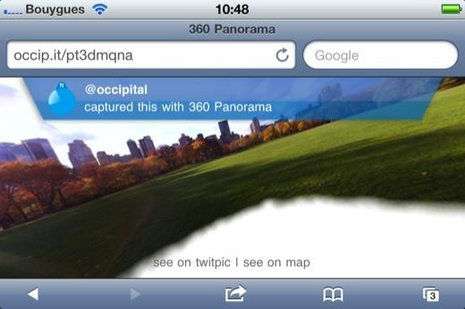 Utiliser le gyroscope de l'iPhone 4 sur Safari Mobile