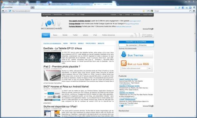 Firefox 4 bêta 8 disponible au téléchargement