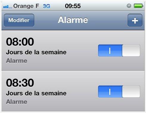 iPhone - Le Bug des alarmes est de retour