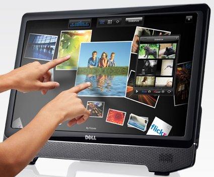 """Dell ST2220T un écran tactile 21,5"""" multitouch"""