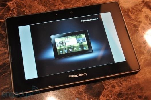 CES 2011 - La RIM PlayBook 4G en vidéo