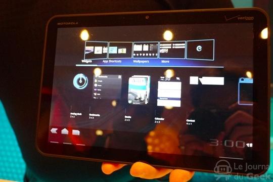 La Motorola Xoom contient un baromètre