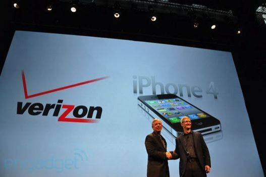 Verizon va proposer l'iPhone 4 CDMA