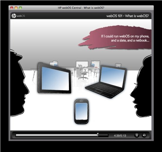 Le webOS va arriver sur les tablettes et les netbooks en plus des mobiles