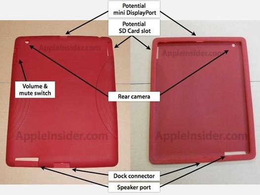iPad 2 - Un Mini Display Port et un slot SD ?