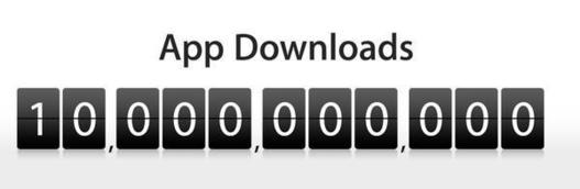 AppStore - Le compteur indiquera bientôt 10 milliards de téléchargements !