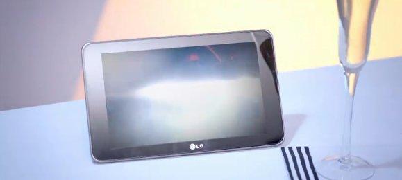 LG G-Slate - La tablette LG se dévoile dans un clip coréen