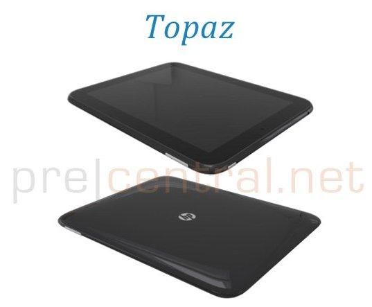Tablette HP Palm Topaz - L'iPad 2 a de la concurrence