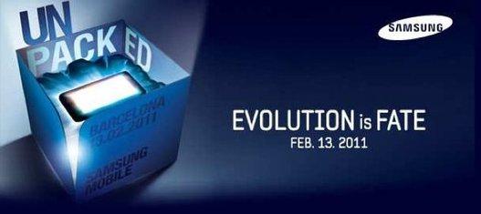 Samsung Galaxy S 2 et Galaxy Tab 2 confirmés pour le MWC 2011