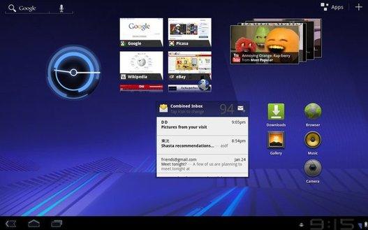 Android 3.0 Honeycomb -  Les nouveautés et le SDK au menu