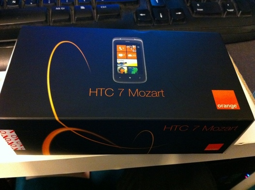 Test du HTC 7 Mozart