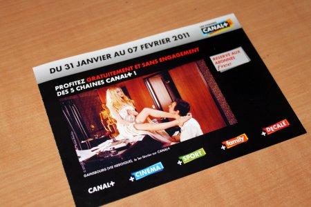 Free offre Canal+ à ses abonnés pendant 1 semaine