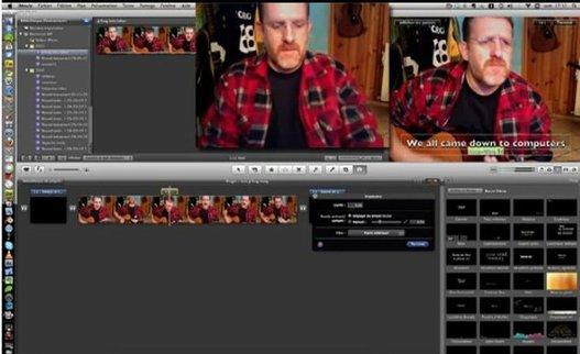 GarageBand + iMovie + JCFrog = iJCFrogTuto