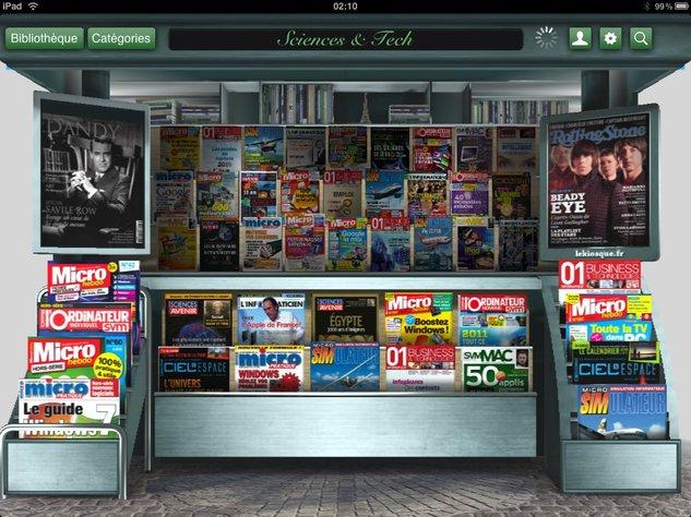 LeKiosque sur iPad - Test et cadeaux