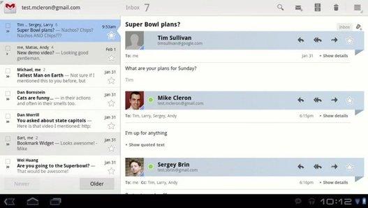 Android 3.0 - La présentation de Honeycomb en vidéo