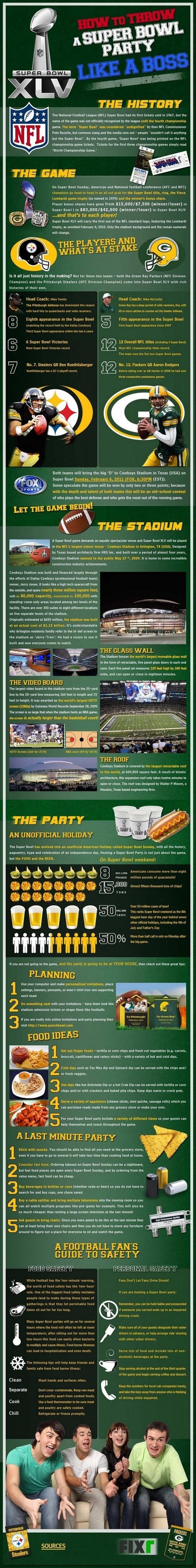 Tout sur le Super Bowl 2011 en 2 images