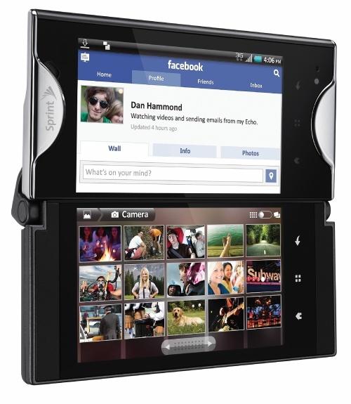 Kyocera Echo - Le premier smartphone avec double écran tactile au monde