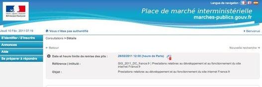 France.fr va être refait ?