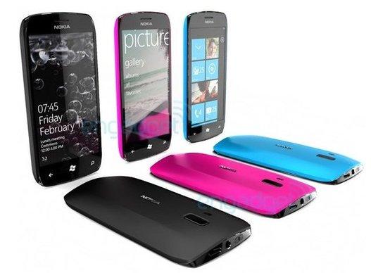 Nokia WP7 - Premiers concepts