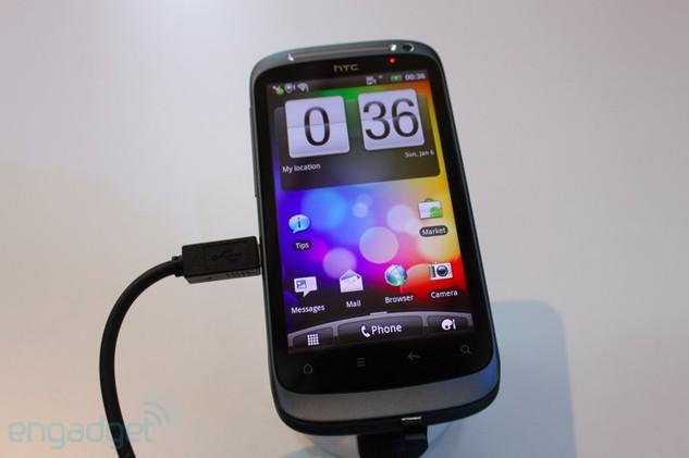 MWC 2011 - HTC rafraîchit sa gamme Android avec l'Incredible S, Desire S et et le Wildfire S