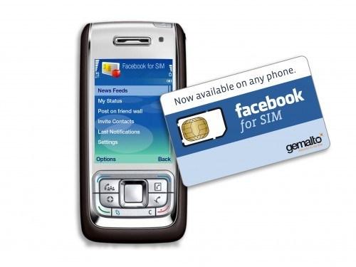 MWC 2011 - Et Gemalto créa la SIM Facebook