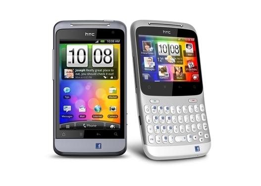 MWC 2011 - HTC et Facebook sortent le HTC Cha Cha et le Salsa