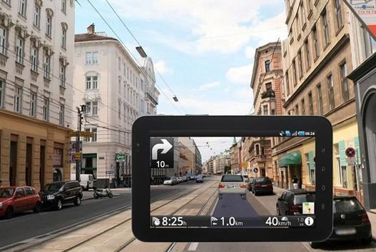 Route 66 - Une application GPS qui utilise la réalité augmentée